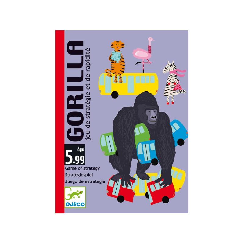 Gorilla gioco di carte Djeco