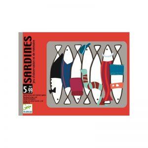 Sardines gioco di carte Djeco