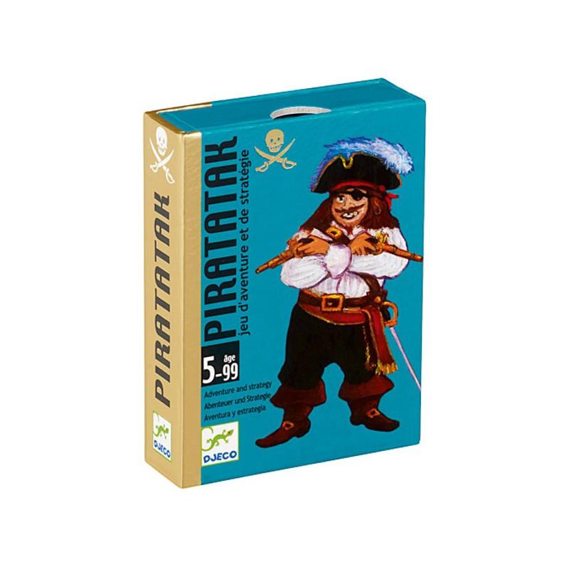 Piratatak gioco di carte Djeco