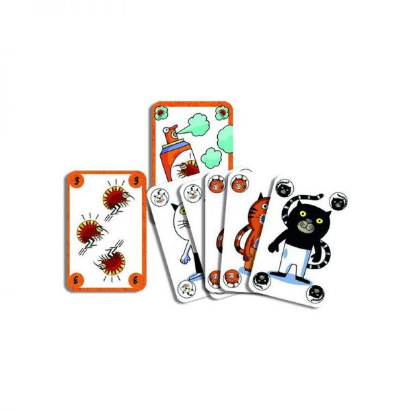Sakapuss gioco di carte Djeco