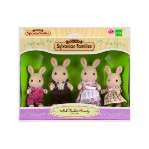 Famiglia Conigli Latte Sylvanian Families