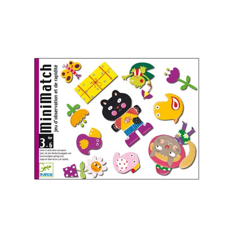 MiniMatch gioco di carte Djeco