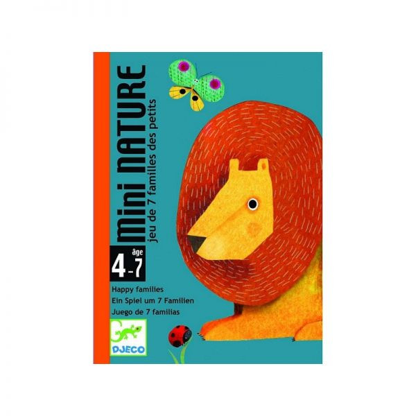 Mini Nature gioco di carte Djeco