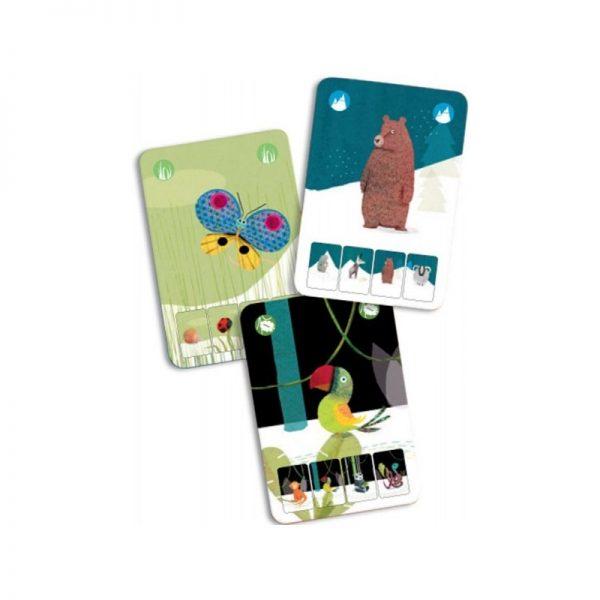 Mini Nature gioco di carte Djeco