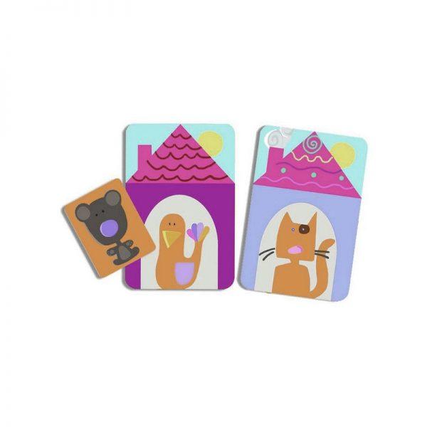 Oudordodo gioco di carte Djeco