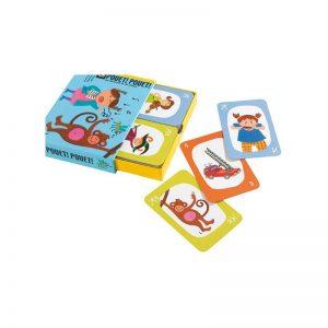 Pouet Pouet gioco di carte Djeco