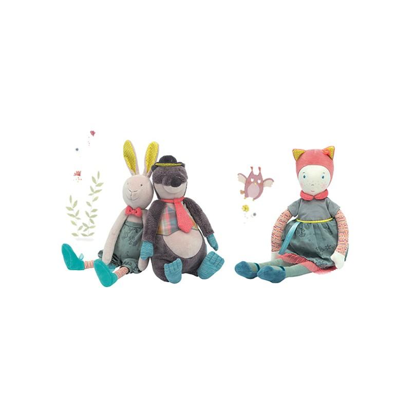 Bambola Mademoiselle et Ribambelle