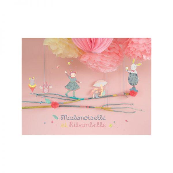Doudou Coniglio Mademoiselle et Ribambelle