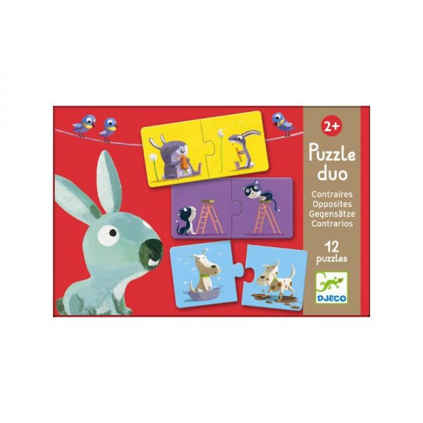 Puzzle Duo Contrari Djeco