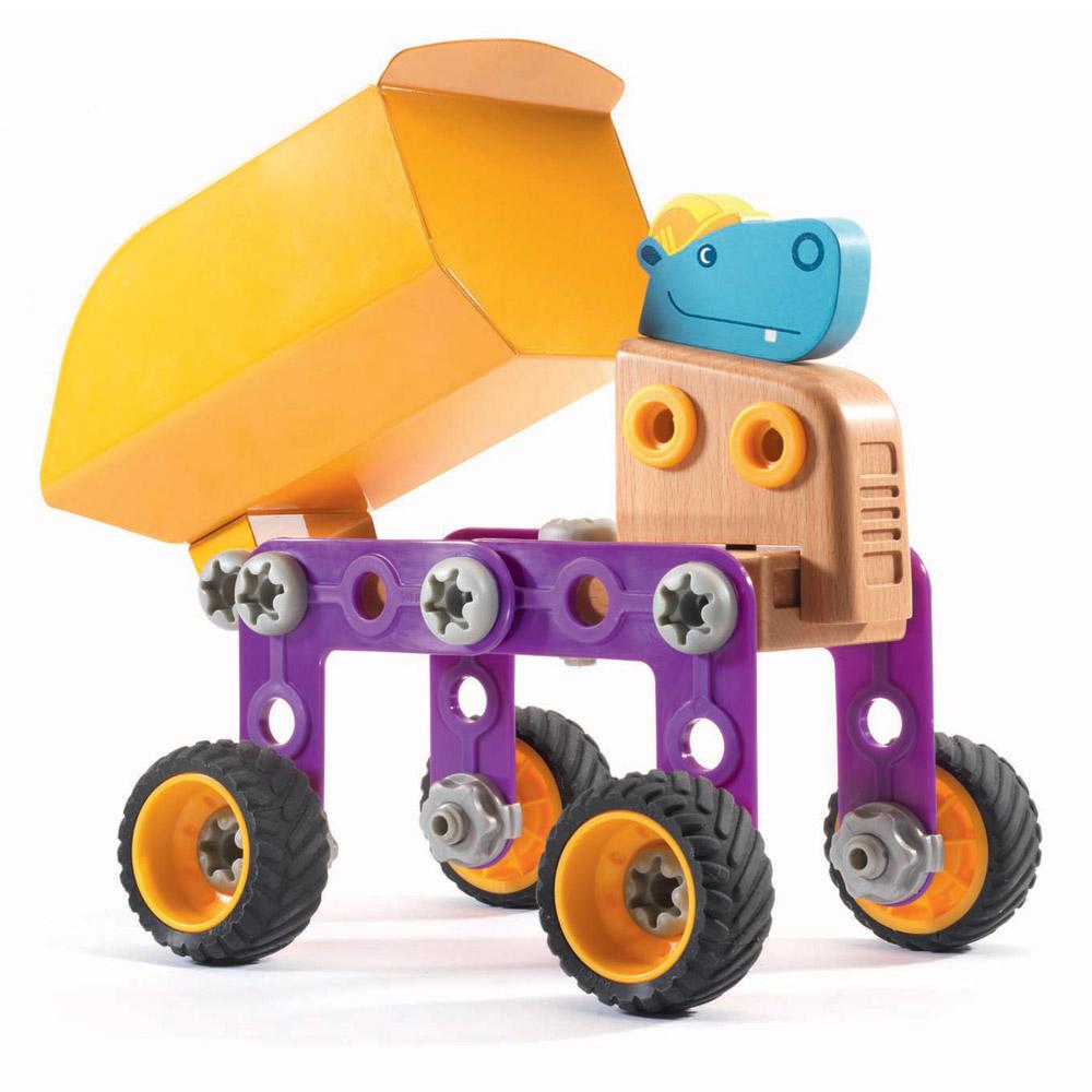 Hippo Ben Costruzioni DJ06695 Djeco