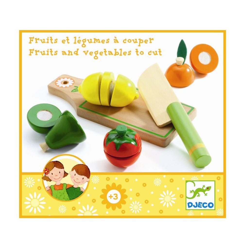 Frutta e Verdura da tagliare Djeco