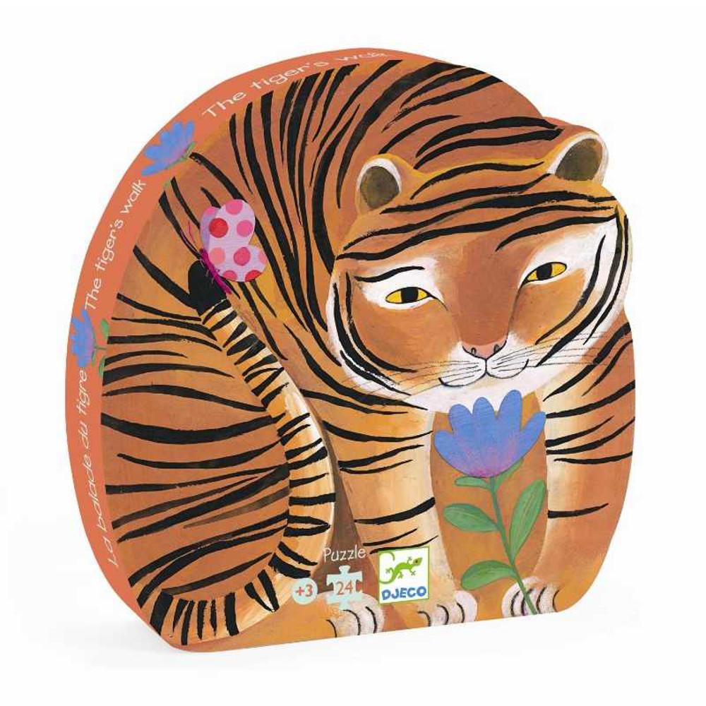 Puzzle Tigre 24 pz Djeco
