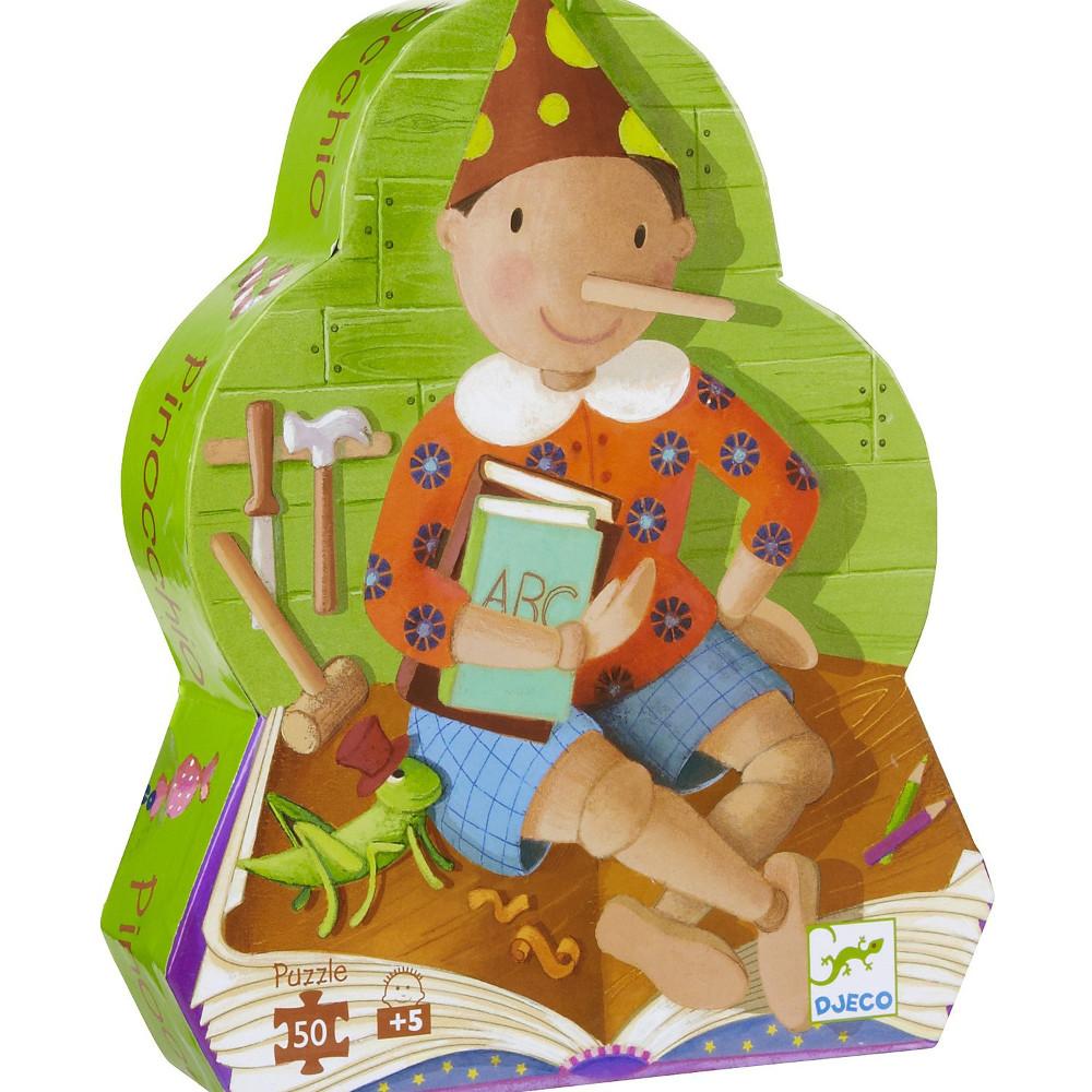 Puzzle Pinocchio Djeco – 50 pezzi