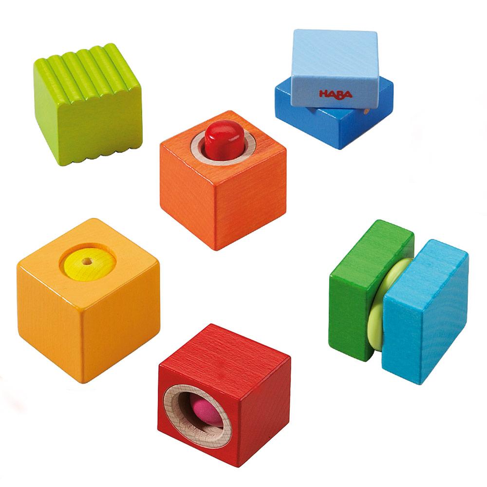 Cubi musicali legno Haba