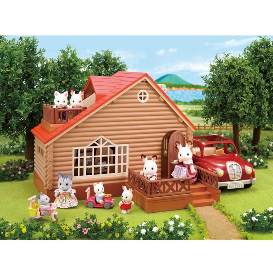 Casa di Campagna arredata Sylvanian Families