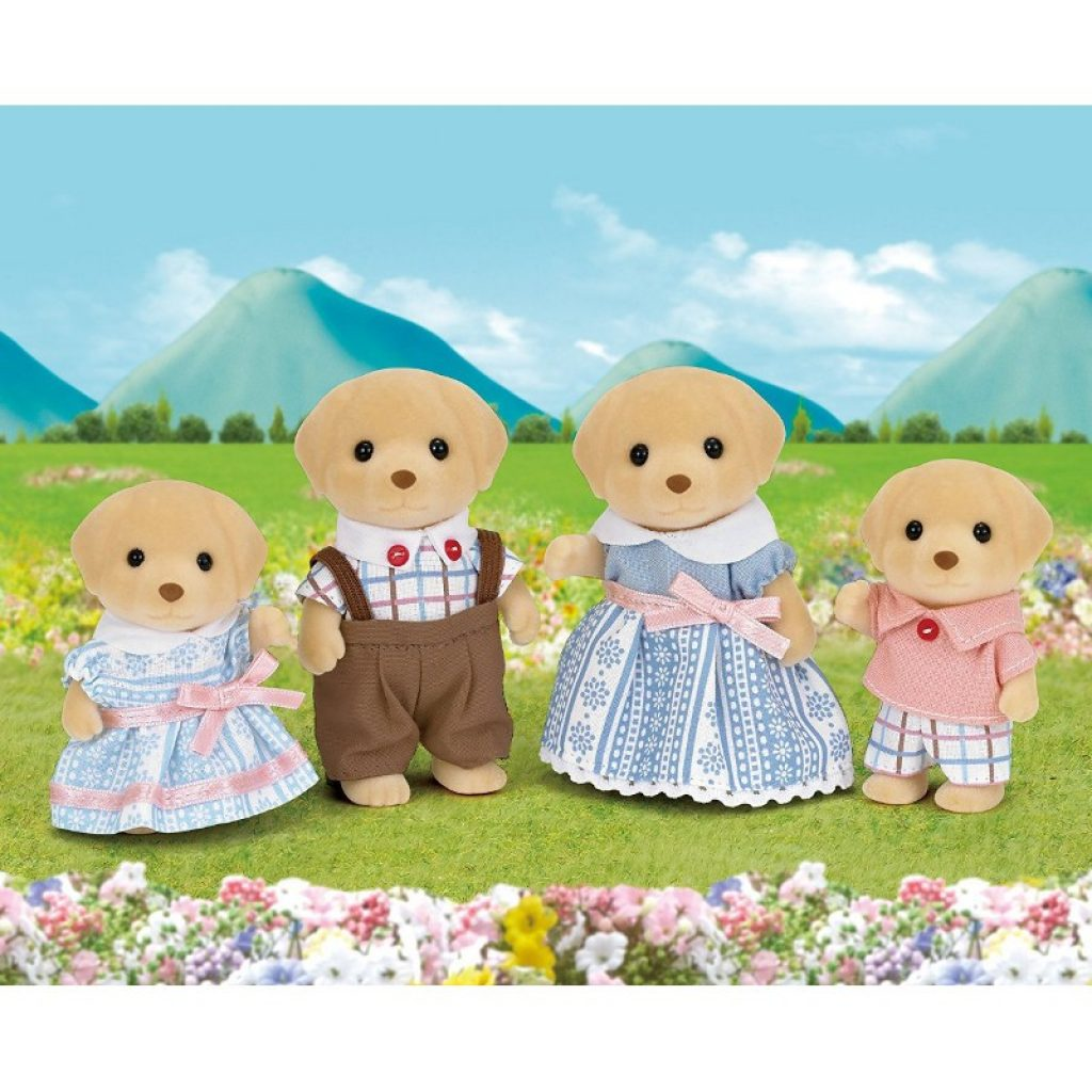 Famiglia Labrador Sylvanian Families