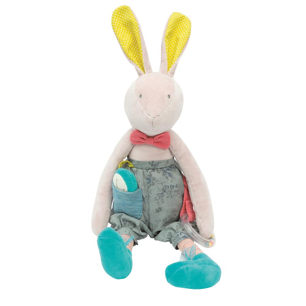 Activity Rabbit Mademoiselle et Ribambelle Moulin Roty