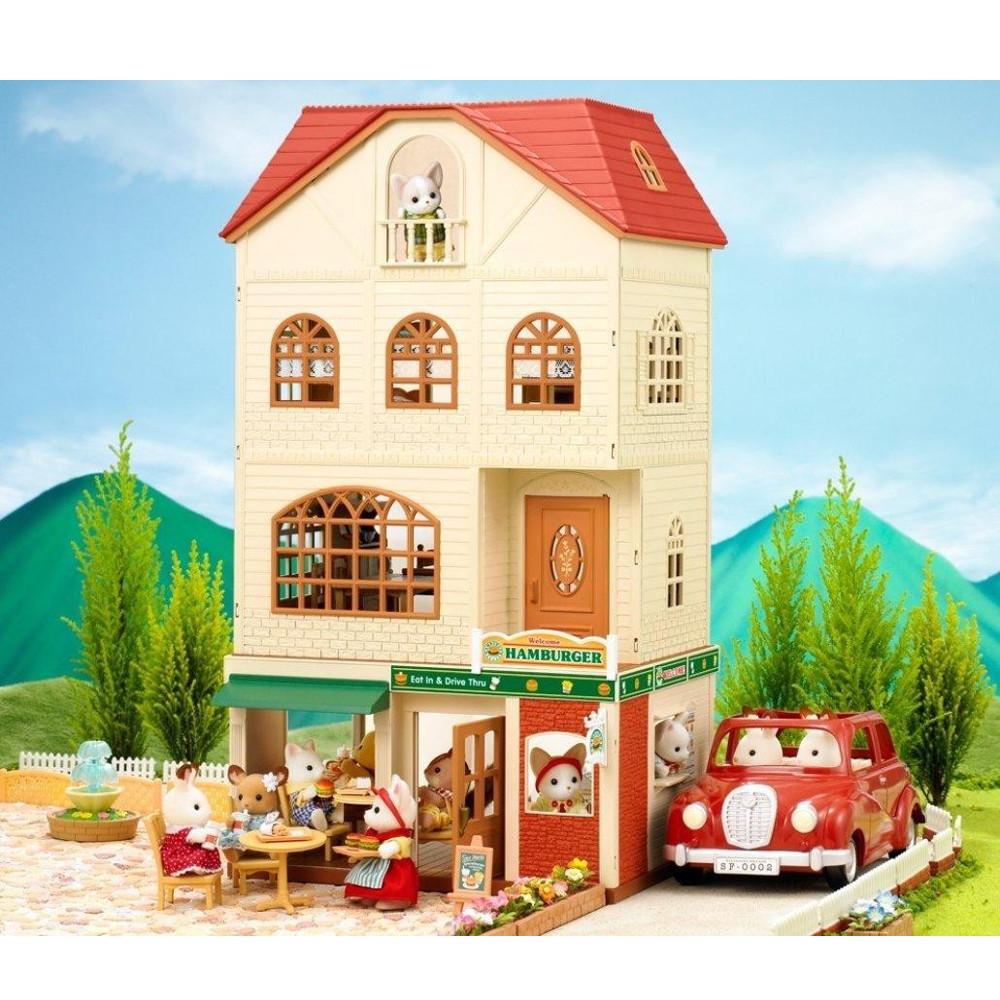 Casa a 3 piani 2745 sylvanian families negozio di for Piani di casa suocera