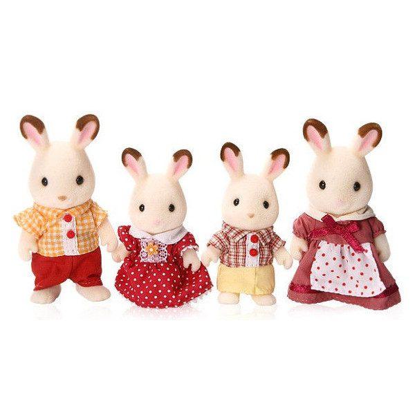 famiglia conigli cioccolato-0