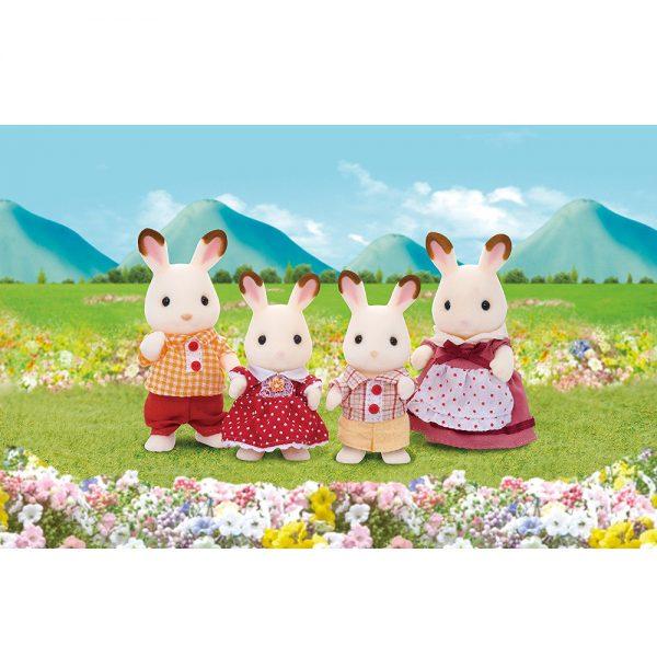 famiglia conigli cioccolato-1