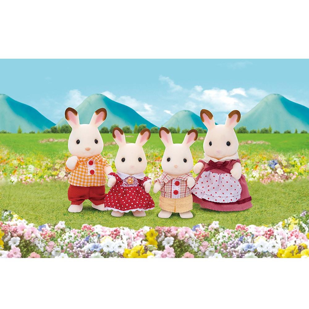 Famiglia Conigli Cioccolato 3125 Sylvanian Families
