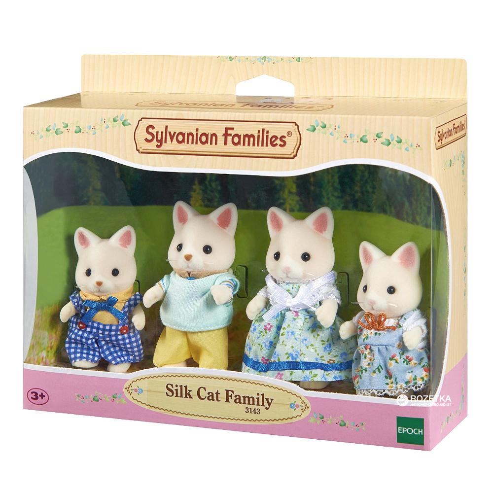 Famiglia Gatti Silk Sylvanian Families
