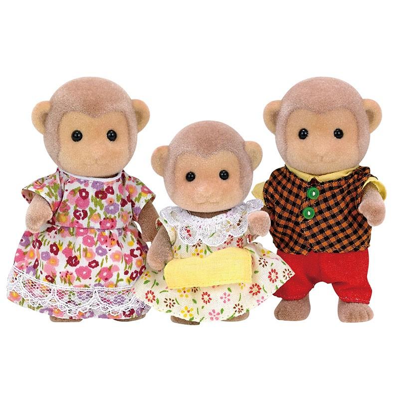 Famiglia Scimmie Sylvanian Families