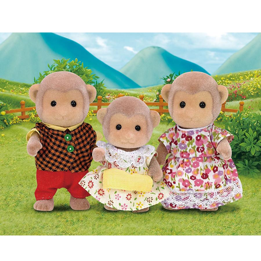 Famiglia Scimmie 5214 Sylvanian Families