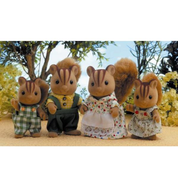 Famiglia Scoiattoli Sylvanian Families