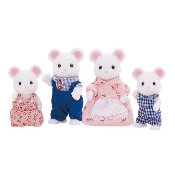 famiglia topolini bianchi-0