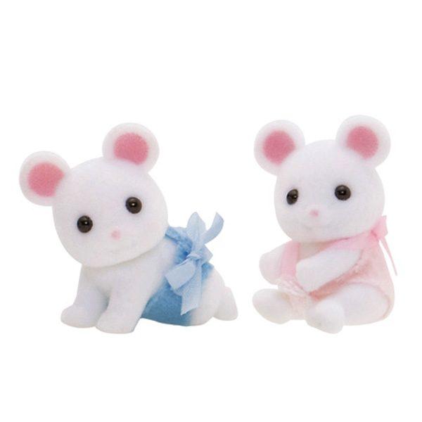 gemelli topolini bianchi-0