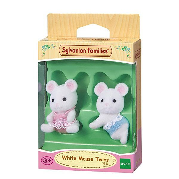 gemelli topolini bianchi-1