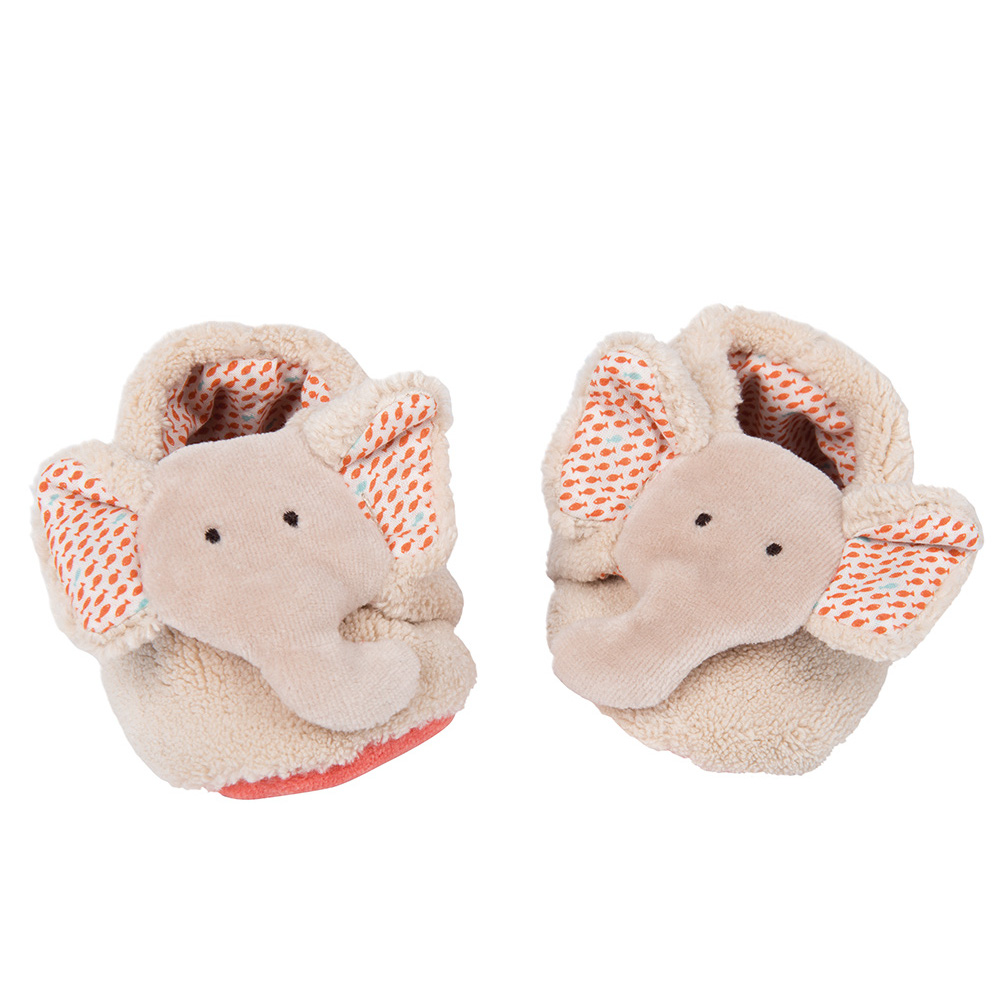 Scarpine Elefante 0-6 mesi Moulin Roty