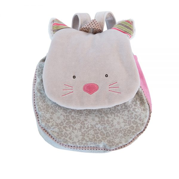 zainetto gatto rosa-0