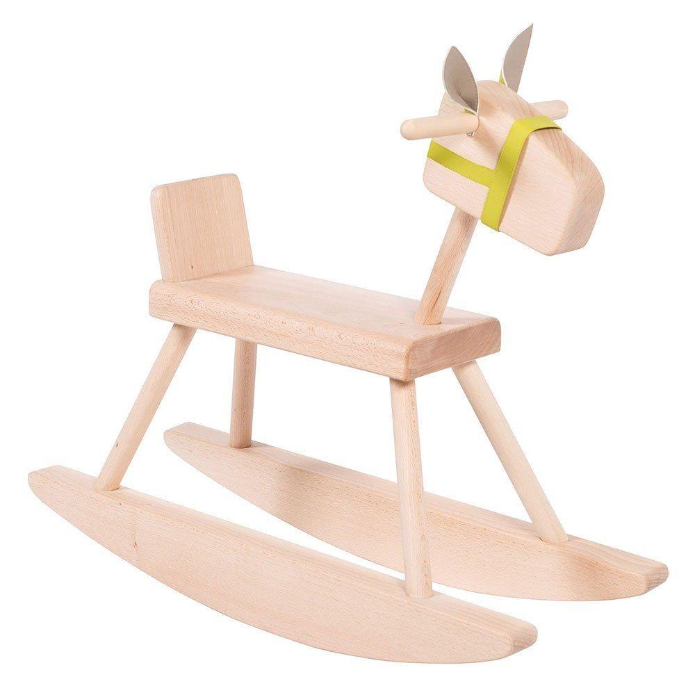 Cavallo A Dondolo Legno.Cavallo A Dondolo In Legno Moulin Roty