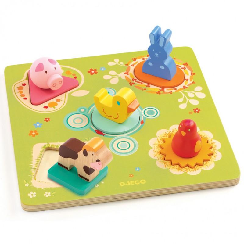 Puzzle Bildi Djeco