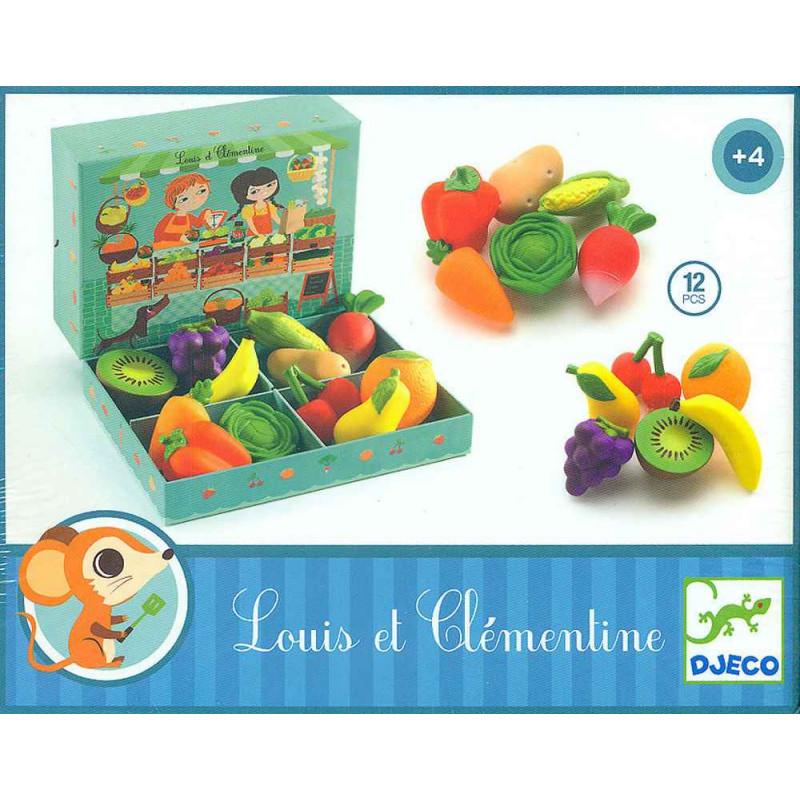 Set frutta e verdura Djeco