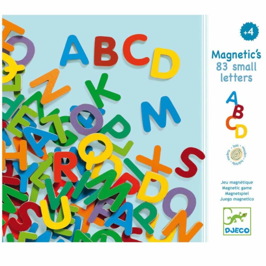 Lettere magnetiche MAIUSCOLE Djeco