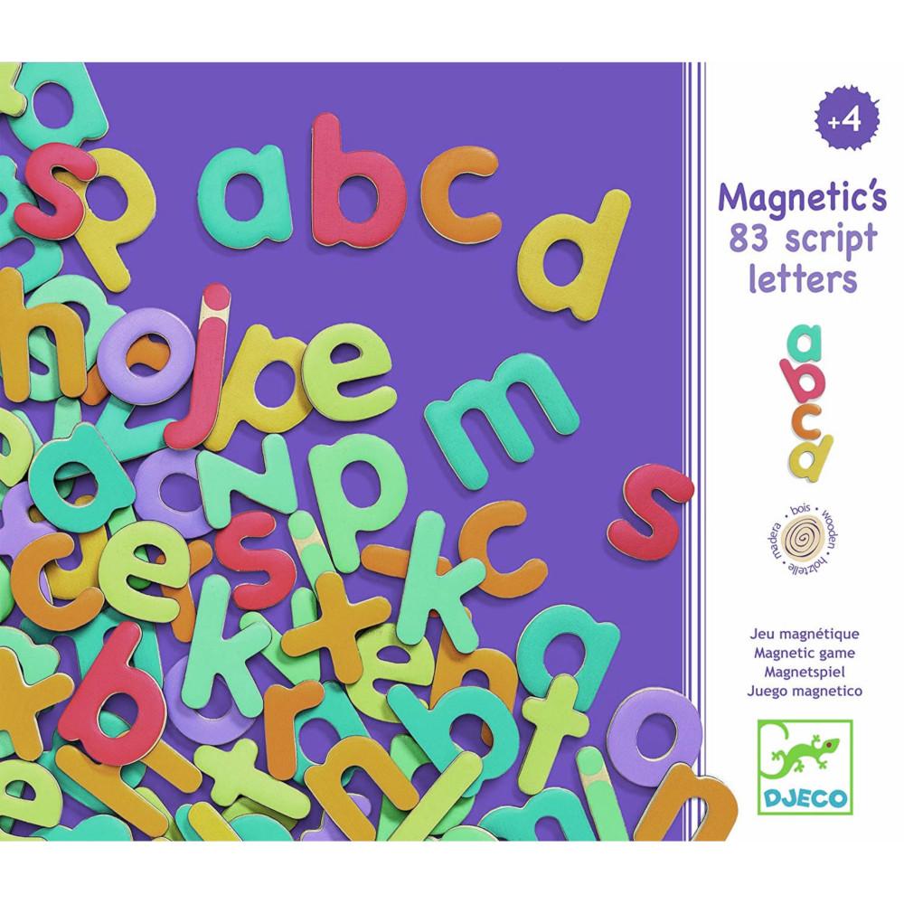 Lettere magnetiche minuscole Djeco