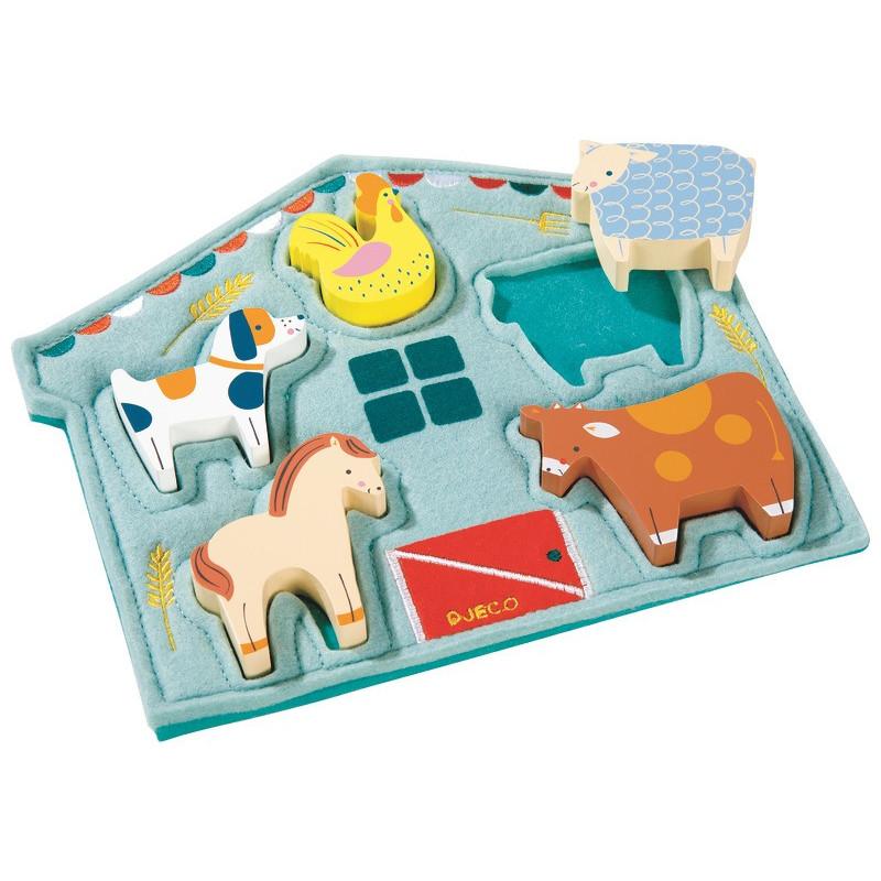 Puzzle Mowy Djeco