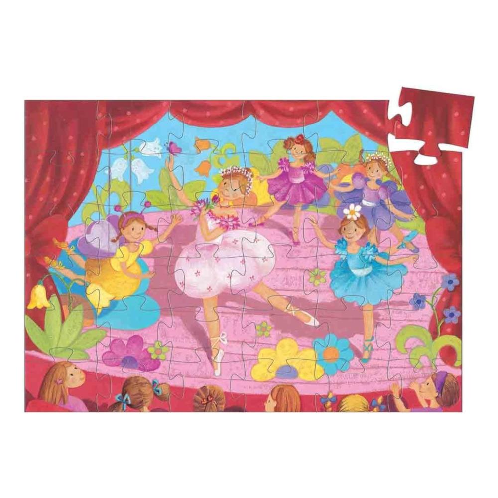 Puzzle la Ballerina col fiore Djeco – 36 pezzi