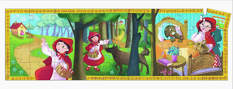 Puzzle Cappuccetto Rosso Djeco – 36 pezzi