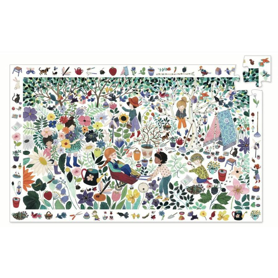 Puzzle Observation 1000 Fiori Djeco – 100 pezzi
