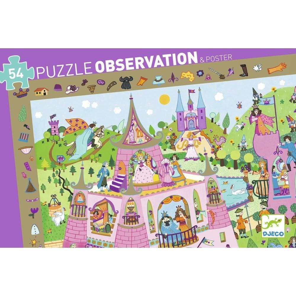 Puzzle Observation Principesse Djeco – 54 pezzi