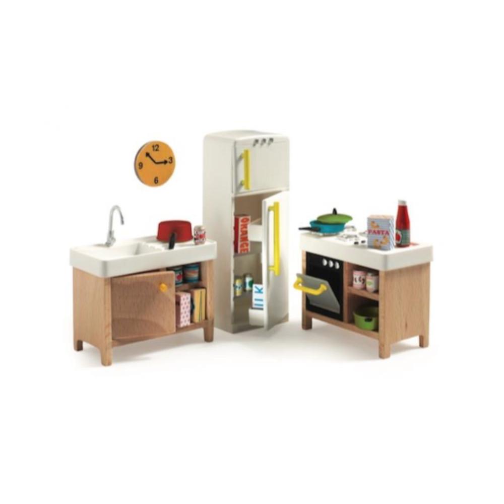Cucina Casa delle Bambole Djeco