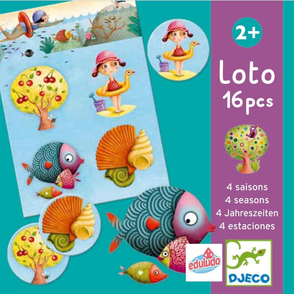 Lotto 4 Stagioni 16 pz Djeco