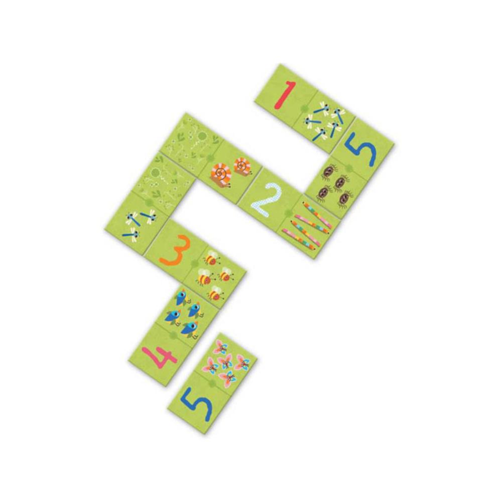 Domino 1, 2 e 3 Djeco
