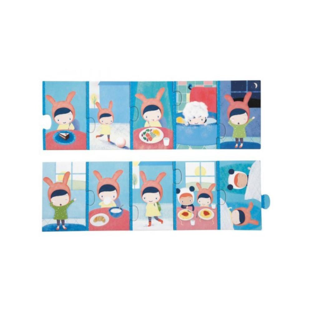 Puzzle La Giornata Djeco