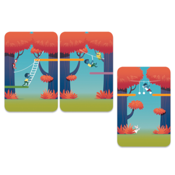 Forest Adventure gioco di carte Djeco