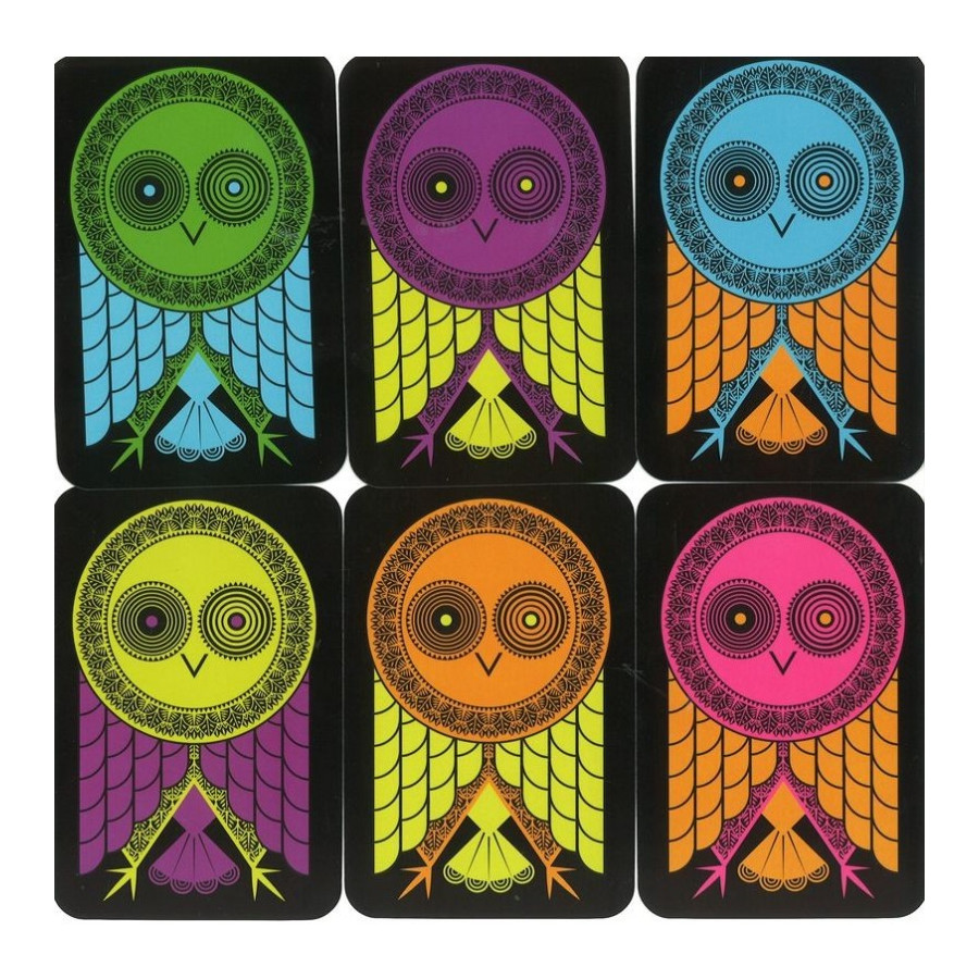 Hiboufou gioco di carte Djeco